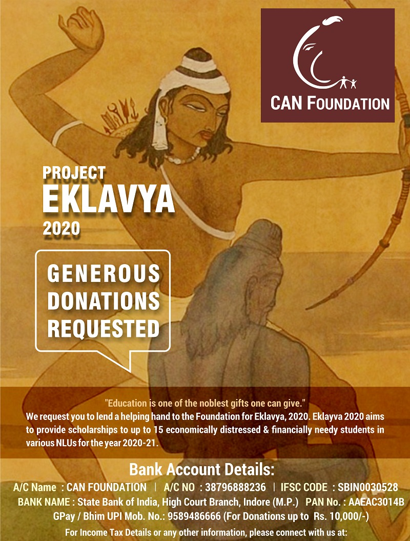 CAN Foundation Project Eklavya 2020